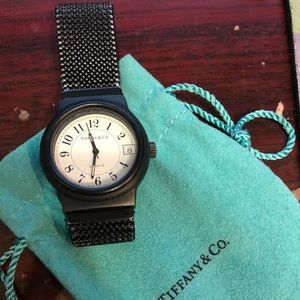 Accessories - Tiffany and co Vintage Mesh Band Watch